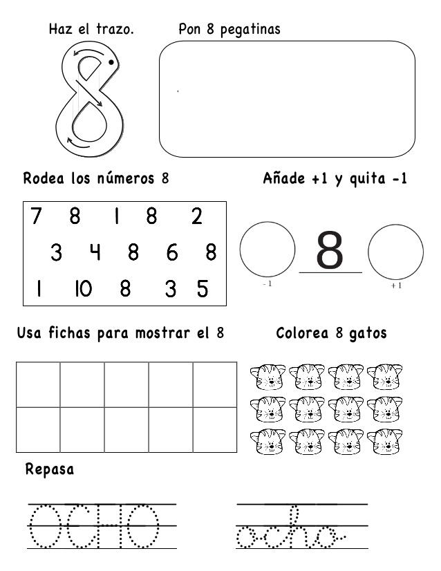 Números   El Rincón De Aprender   Página 4