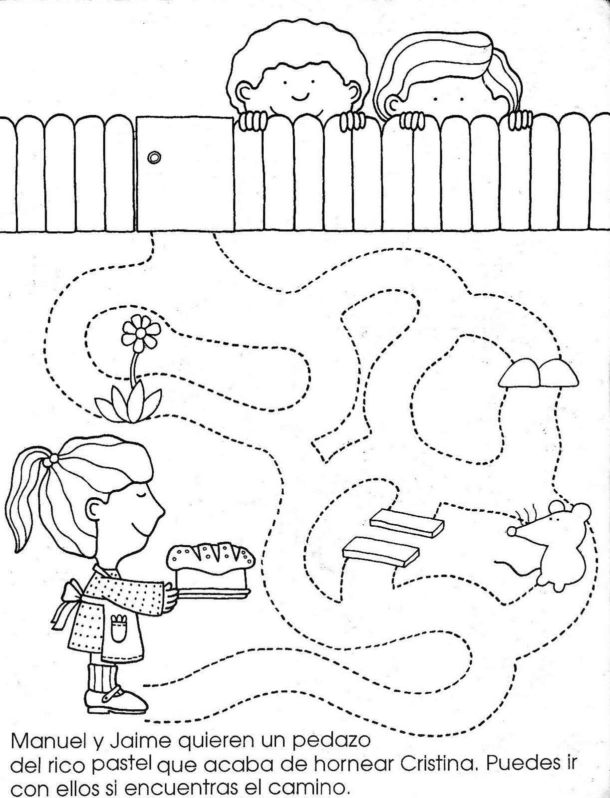 Fichas infantiles. Los 5 sentidos | El Rincón De Aprender