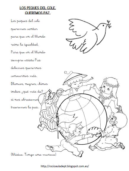 Actividades Para El Día De La Paz El Rincón De Aprender