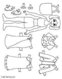 niña y ropa
