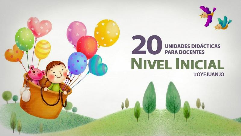 20 unidades did cticas para docentes del nivel inicial for Diseno curricular nivel inicial maternal